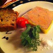 foies gras+cake