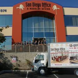 San Diego Office Modular Design Office Equipment San