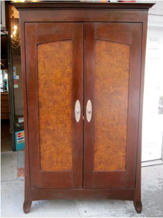 Solid Mahogany Double Door Armoire Pocket Doors 28 Deep 43 Wide 78 High Yelp