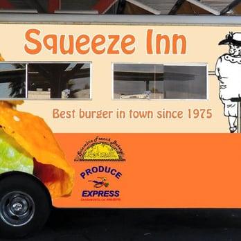 Squeeze Inn Food Truck Menu