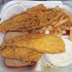 Hook fish chicken southern bond hill cincinnati for Hook fish and chicken menu
