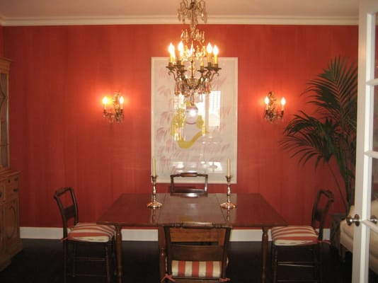 Burnt Orange Wall Paint Images
