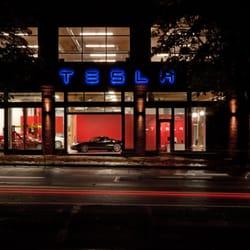 Tesla Motors South Lake Union Seattle Wa Verenigde