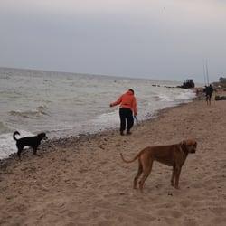 Hundestrand direkt am Ostseecamp