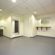 Spacious Changing Rooms