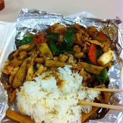 Thai Country Restaurant - Cashew chicken...very good!!! - McMinnville, OR, Vereinigte Staaten