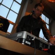 DJ Lee Butler playing some tunes at our…