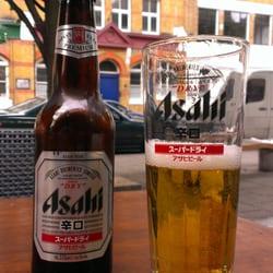 Asahi beer, refreshing and delocious…