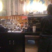 Rowland Cafe - my drink getting prepared - Detroit, MI, Vereinigte Staaten