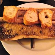 Autour d'un verre - Paris, France. Autour d'un Verre: bone marrow BEFORE
