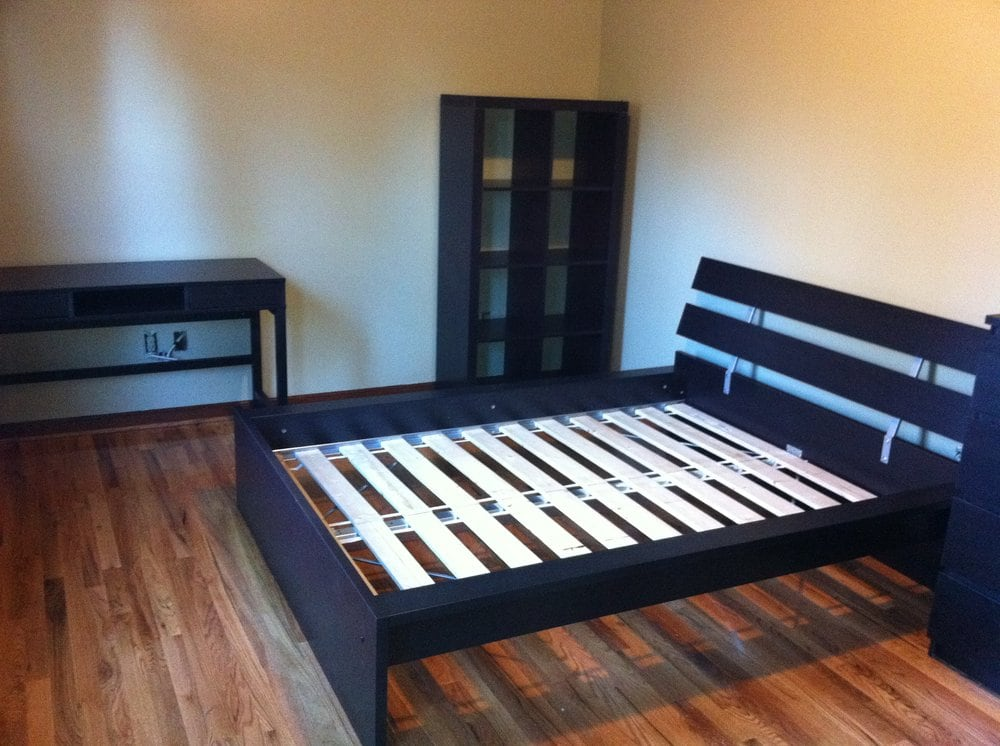 ikea bedroom set up yelp. Black Bedroom Furniture Sets. Home Design Ideas