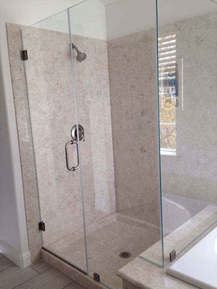 All american glass shower contractors san ramon ca for All glass shower