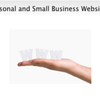 Personal and small business websites