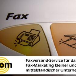 Faxversand für Firmen von dskom…