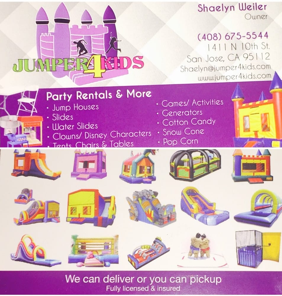 Jumper 4 Kids Party Bounce House Rentals 10 Photos