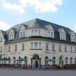 Außenansicht Bahnhof-Hotel Saarlouis
