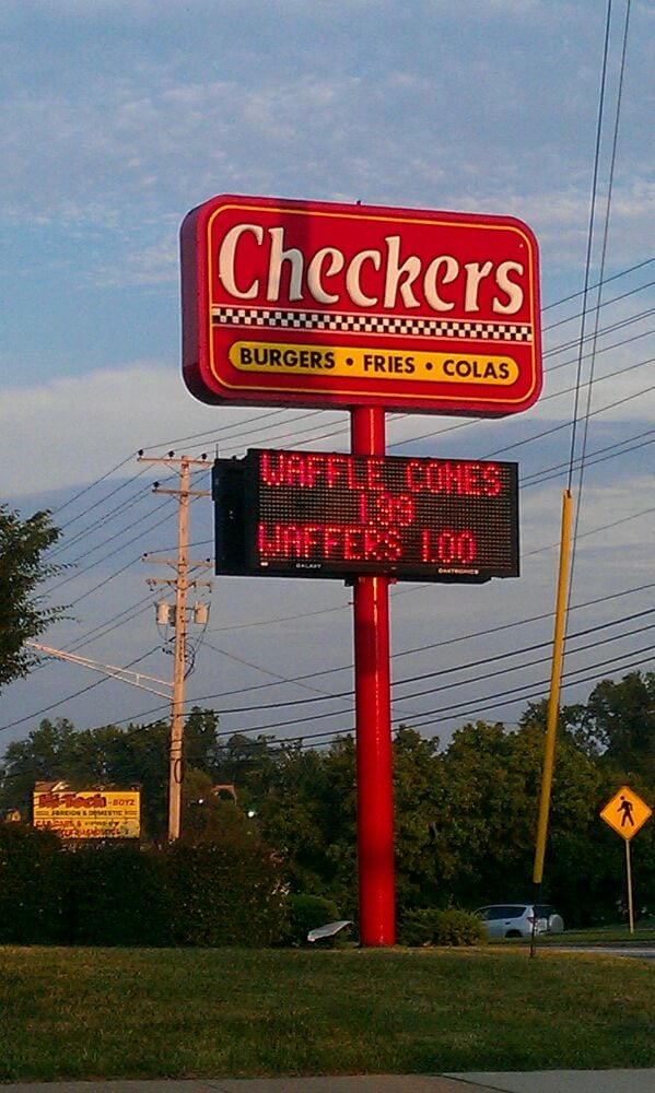 Checkers Fast Food Restaurant Review