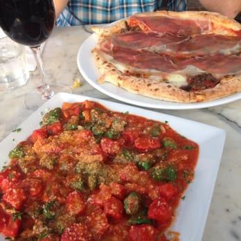 Gnocchi with bacon, onion and marinara sauce. Nicolas pizza ...