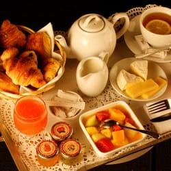 Plateau de petit-déjeuner