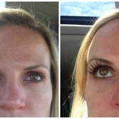 Havana Spa - individual eyelash application.  before and after - Chicago, IL, Vereinigte Staaten