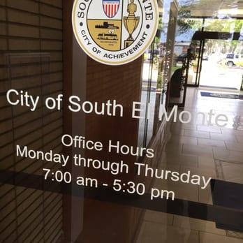 El Monte City Hall Hours