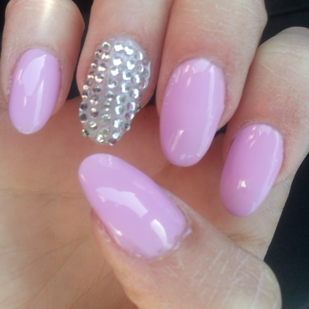 Nails - Fremont, CA, United States. Round Nails By Kim, Shellac #76