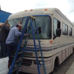 AD Auto Glass - Garden Grove, CA, États-Unis. Windshields for Motorhome - RV available!