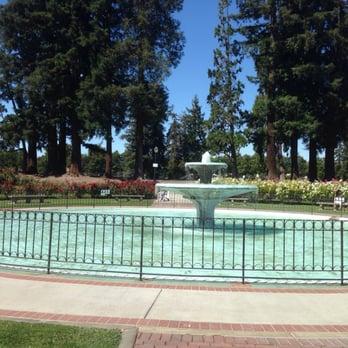 San Jose Municipal Rose Garden San Jose Ca United