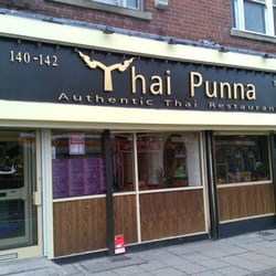 Thai Punna, Sheffield.  And my g/f in…