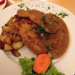 Buchscheerschnitzel in Ebbelwoisosse mit…