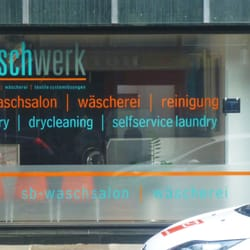 Waschsalon Waschwerk, Düsseldorf, Nordrhein-Westfalen, Germany
