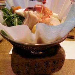 Washinabe: Meeresfrüchte und Gemüse…