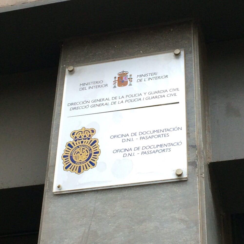 oficina de dni y pasaporte police stations horta