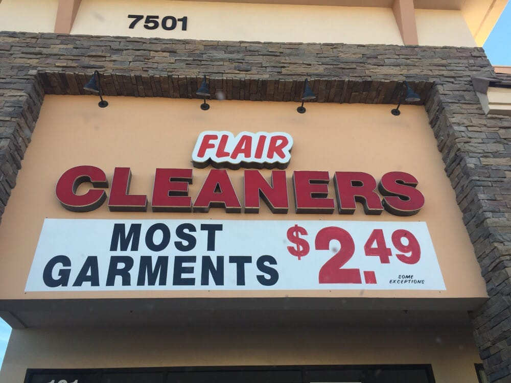 Flair cleaners coupons las vegas