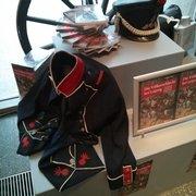 Ausstellung einer Uniform