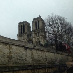 Notre Dame from the river