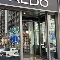 I hadn't gone to ALDO or The Bay for a while but on this