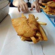 Single order menu spud fish chips kirkland for Spuds fish and chips