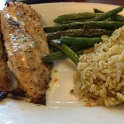 Ruby Tuesday - Cincinnati, OH, United States. Herb crusted tilapia ...