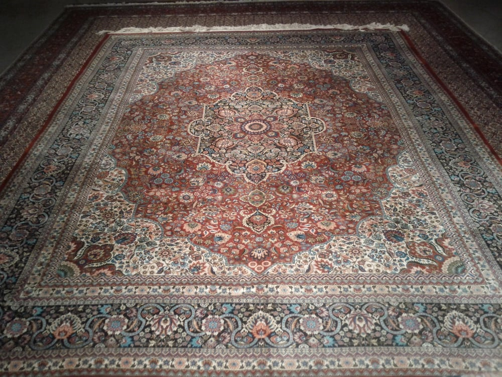 how to spot clean a persian rug