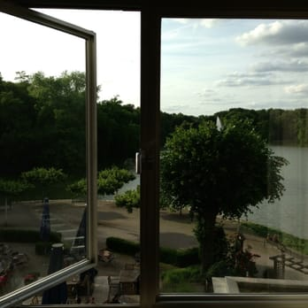 Lake view from room.