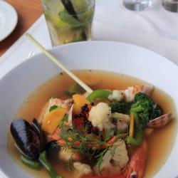 Fish Soup + Mojito