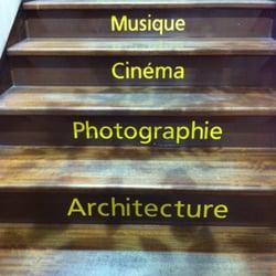 Les escaliers de la librairie Ombres…
