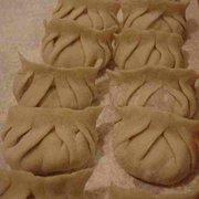 Home made chinese dumplings