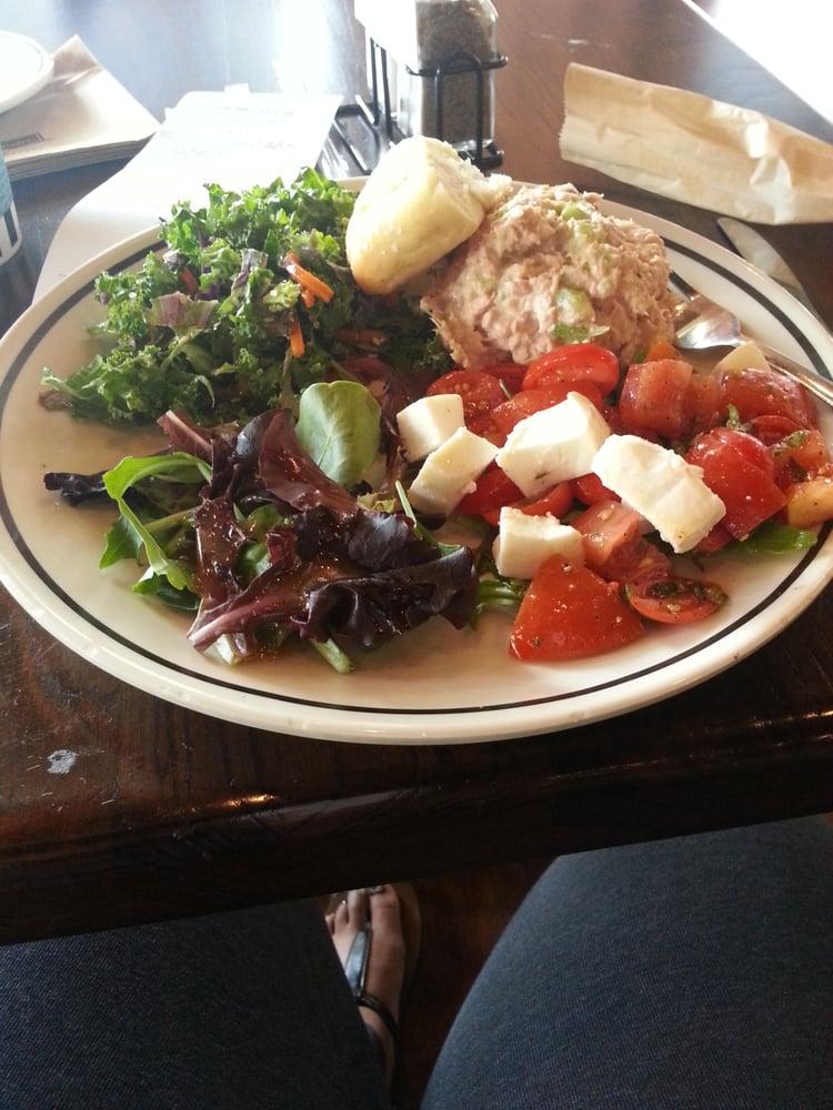 ... Tuna salad, caprese salad and kale salad. - Houston, TX, United States