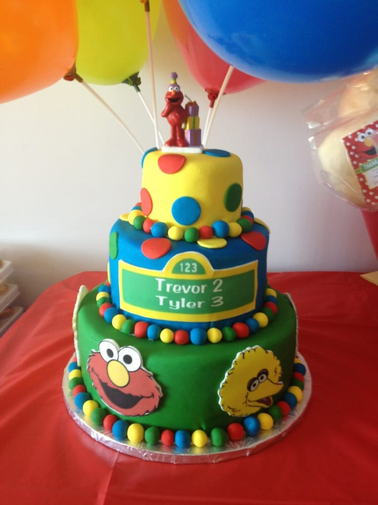 Cake And Art Yelp : Sesame Street cake Yelp