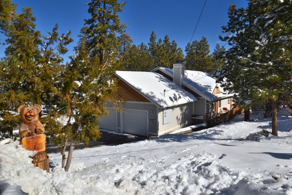 Cozy Forest Cabin Guest Houses Big Bear Lake Ca
