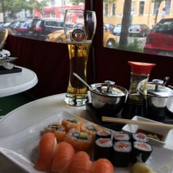 Reasonable sushi in a big European city.