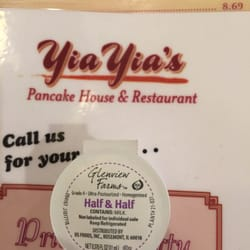 Yia Yia's Pancake House - North Riverside - North Riverside, IL, États-Unis. Local support! Kudos.