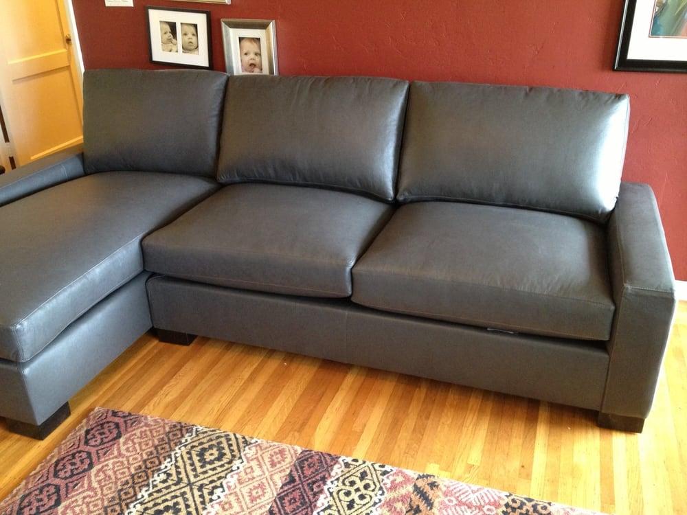 Nina Style Leather Sofa Chaise Yelp